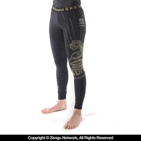93 Brand Womens Strong Snake Grappling Spats